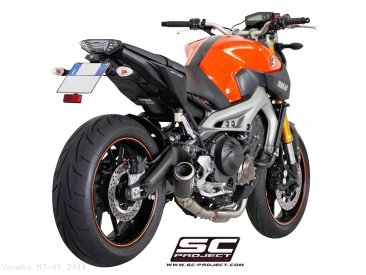 CR-T Exhaust by SC-Project Yamaha / MT-09 / 2014