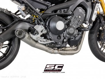 Conic Exhaust by SC-Project Yamaha / XSR900 / 2016
