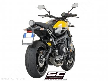 Conic Exhaust by SC-Project Yamaha / FZ-09 / 2016