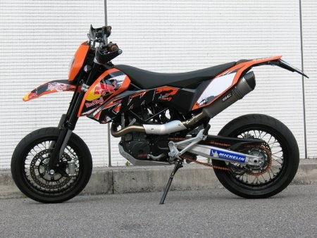 Oval Exhaust by SC-Project KTM / 690 Enduro / 2009