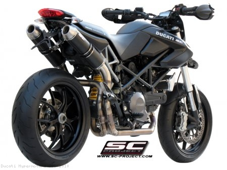 GP-EVO 2-2 Full System Exhaust by SC-Project Ducati / Hypermotard 796 / 2010