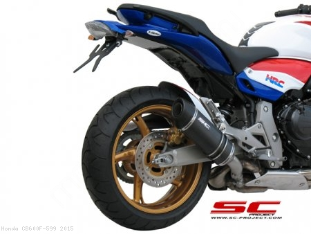 Oval Exhaust by SC-Project Honda / CB600F 599 / 2015