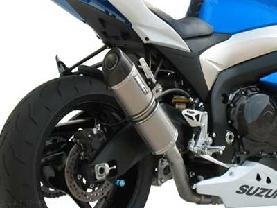 Oval Exhaust by SC-Project Suzuki / GSX-R1000 / 2009