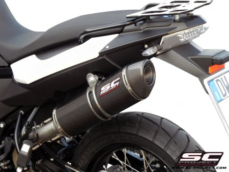 Oval Exhaust by SC-Project BMW / F800GS / 2010