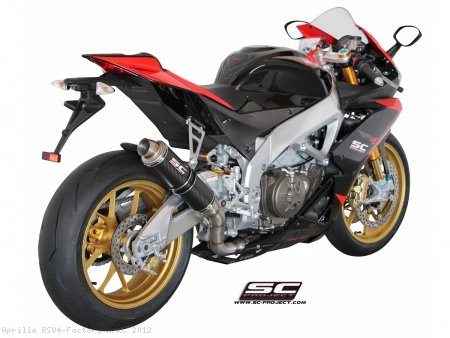 GP Exhaust by SC-Project Aprilia / RSV4 Factory APRC / 2012