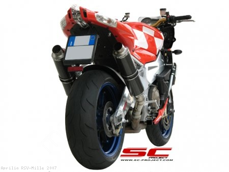 GP Exhaust by SC-Project Aprilia / RSV Mille / 2007