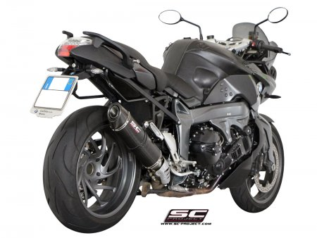 Oval Matte Carbon Exhaust by SC-Project
