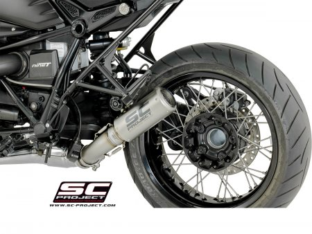 CR-T Exhaust with Titanium Link Pipe by SC Project