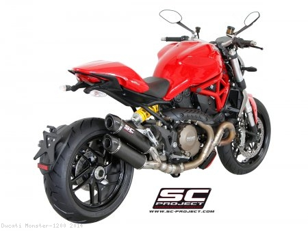 GP-Tech Dual Exhaust by SC-Project Ducati / Monster 1200 / 2014