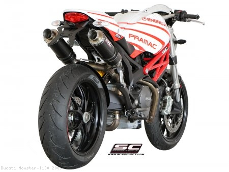 GP Exhaust SC-Project Ducati / Monster 1100 / 2009