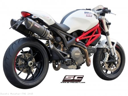 Oval Exhaust by SC-Project Ducati / Monster 796 / 2015