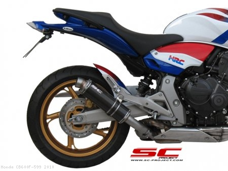 GP Exhaust by SC-Project Honda / CB600F 599 / 2010