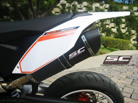 Oval Exhaust by SC-Project KTM / 690 SMC / 2010
