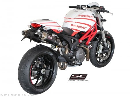 GP Exhaust SC-Project Ducati / Monster 696 / 2012
