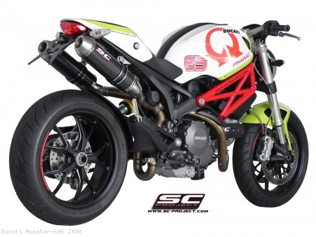 GP-EVO Exhaust by SC-Project Ducati / Monster 696 / 2008