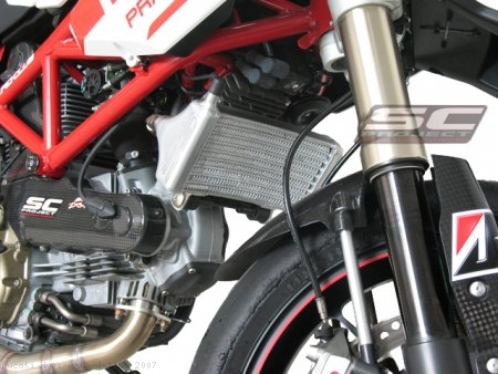 Oil Cooler By SC-Project Ducati / Hypermotard 1100 / 2007