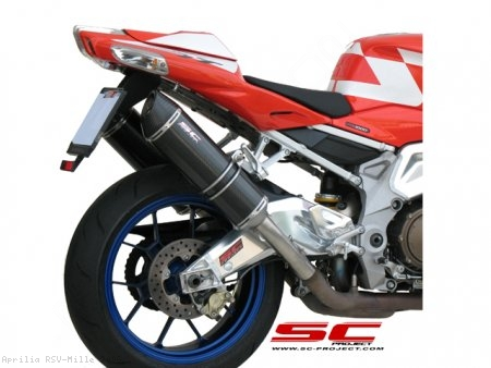 Oval Exhaust by SC-Project Aprilia / RSV Mille / 2006