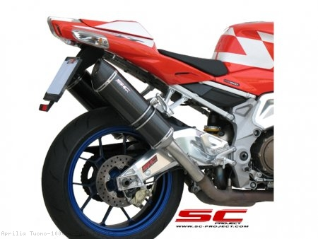 Oval Exhaust by SC-Project Aprilia / Tuono 1000 R Factory / 2006