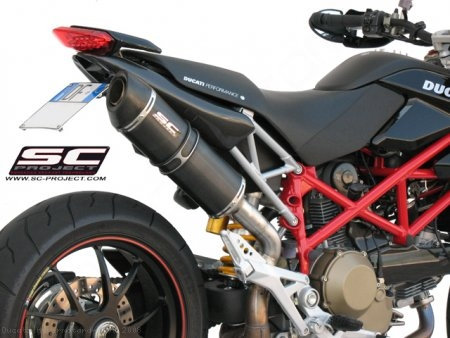Oval Exhaust by SC-Project Ducati / Hypermotard 1100 / 2008