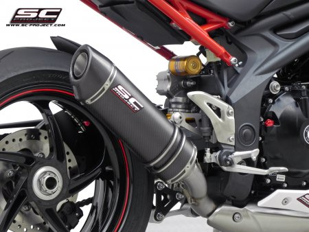 Oval Low Mount Exhaust by SC-Project