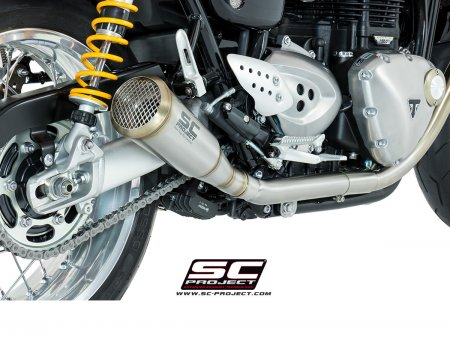 "Conic ""70s Style"" SHORTY Exhaust by SC-Project"